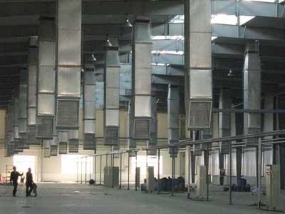 Lắp đặt ống gió nhà xưởng